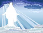 stock photo of risen  - Christ is Risen  - JPG