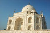 Taj Mahal In Agra  - Famous Landmark In Uttar Pradesh, India poster