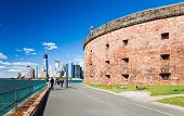 New York - September  23: Governors Island On September 23, 2012 In New York. Located In Upper New Y