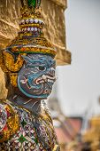stock photo of south east asia  - Sculpture at Royal Palace Bangkok City Religion Culture and Tradition South East Asia Thailand - JPG