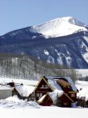image of colorado high country  - Mountain living in the high country of Crested Butte Colorado - JPG