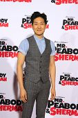 LOS ANGELES - MAR 5: Tim Jo at the premiere of 'Mr. Peabody & Sherman' at Regency Village Theater on