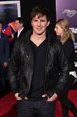LOS ANGELES - MAR 6: Matt Lanter at the premiere of DreamWorks Pictures' 'Need For Speed' at TCL Chi