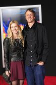 LOS ANGELES - MAR 6: Tony Hawk at the premiere of DreamWorks Pictures' 'Need For Speed' at TCL Chine