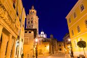 Aragon Teruel Cathedral Santa Maria Mediavilla Unesco heritage and City town hall at Spain