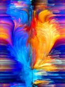 stock photo of hallucinations  - Colors In Bloom series - JPG