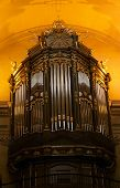 image of organist  - Church organ - JPG