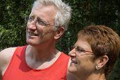 Happy Senior Couple -1 poster