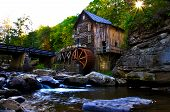 stock photo of water-mill  - A picture of a grist mill - JPG