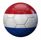 image of holland flag  - Holland flag soccer ball - JPG