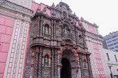 stock photo of senora  - The Basilica Menor y Convento de Nuestra Senora de la Merced  - JPG