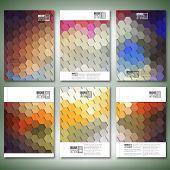 stock photo of hexagon pattern  - Geometric backgrounds - JPG