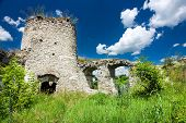 image of eastern culture  - Medieval castle ruins in Sidoriv Ukraine Eastern Europe - JPG