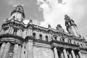 stock photo of old post office  - Barcelona Spain - JPG