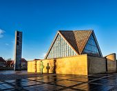 picture of trinity  - Holy trinity church in Esbjerg in Denmark - JPG