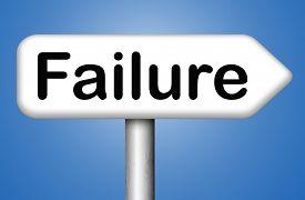 foto of fail job  - failure fail exam or attempt can be bad especially when failing an important task or in your study failing an exam - JPG