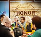 pic of integrity  - Honor Integrity Success Victory Achievement Concept - JPG