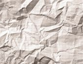 picture of math  - Crumpled gray blank math - JPG