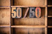 stock photo of 50s  - The word 50 - JPG