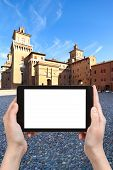 picture of ferrara  - travel concept  - JPG