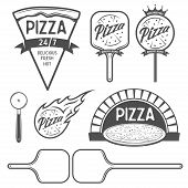 picture of hot fresh pizza  - Pizza labels - JPG