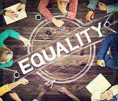image of equality  - Equality Balance Discrimination Equal Moral Concept - JPG