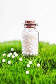foto of placebo  - Homeopathy  pills - JPG