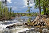 Rapids, Gull Lake, Bwcaw