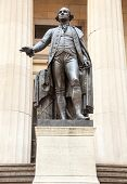 Statue George Washington Federal Hall