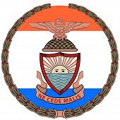 Coat Of Arms Of Bronx Is The Northernmost Of The Five Boroughs Of New York City, In The U.s. State O poster