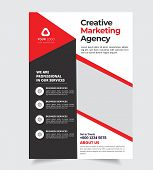 Creative Flyer brochure design, Corporate business Flyer size A4 template, creative leaflet Template poster