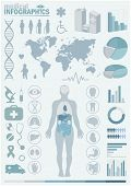 stock photo of organ  - Medical infographics - JPG