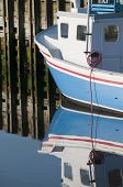 Lobster Boat Reflection