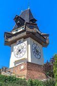 picture of pendulum clock  - Famous Clock Tower  - JPG