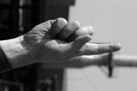pic of stewardship  - photo hands of the men working at the moment - JPG