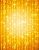 stock photo of backround  - golden brightnes illustration suitable for christmas or disco backround vector illustration - JPG