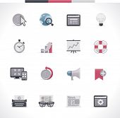 stock photo of time study  - SEO icon set - JPG