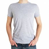 Man In Gray T-shirt