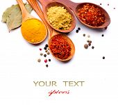 foto of spooning  - Spices - JPG