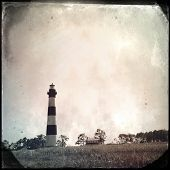pic of outer  - Instagram filtered image of the Bodie Lighthouse - JPG