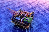 pic of rework  - Oil production into the sea - JPG