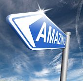image of you are awesome  - awesome and amazing with a big wow factor and really mind blowing and fantastic - JPG