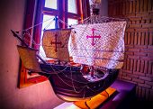 picture of christopher columbus  - Replica of Santa Maria Christopher Columbus ship - JPG
