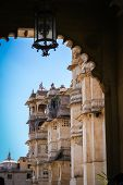 pic of india gate  - Gates to the magnificent Udaipur Palace - JPG