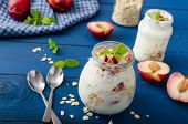 pic of fruit  - Domestic yogurt with fruit and granola  - JPG