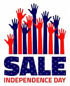 foto of election campaign  - 4th july American Independence Day Sale - JPG