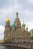 stock photo of fornication  - Church of the Savior on fornication Fontanka river - JPG