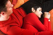 picture of have sweet dreams  - Young couple is having a date - JPG