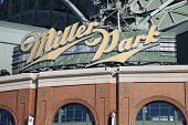 Miller Park In Milwaukee