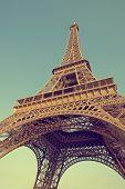 Постер, плакат: Эйфелева башня